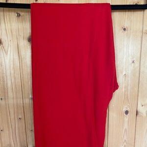 LuLaRoe RED TC Leggings *Excellent Condition*